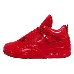 newest 24823 c0db8 Nike Air Jordan 11LAB4 Rot Patent Sneaker 719864 600 Size 44 EU  Amazon.de   Schuhe   Handtaschen