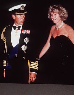 Prince Charles and Camilla in 1970 Royal advisers and family members thought her an unsuitable match to the heir to the throne, and he was soon posted overseas on military duty.
