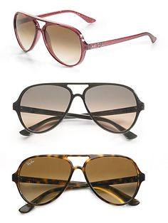 Ray-Ban - Aviator Sunglasses - Saks.com