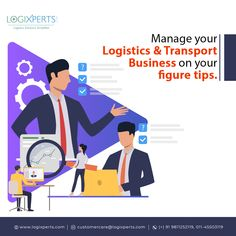 Switch to logixperts a cloud-based for logistics & business & access your data in your mobile. For more details contact us at @ - visit our website & Register Now. Flat Design Illustration, Simple Illustration, Business Illustration, Computer Service, Cloud Based, Photo Craft, Marketing, Transportation, Management