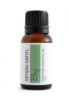 100% Pure - No Additives Simply Earth's Bay (Laurel Leaf) Essential Oil is 100% Pure - Non-Toxic - No Additives - Unfiltered and Undiluted with No Fillers. We guarantee it.  100% Satisfaction Guarante...