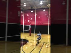 The volleyball hitter has options for scoring against opponents to score points including tipping the ball deep or short in the court to mix up your attack. Volleyball Hitter, Volleyball Skills, Volleyball Practice, Coaching Volleyball, Mental Toughness Training, Volleyball Positions, Passing Drills, Team Goals, Improve Yourself