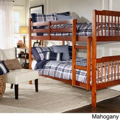 She really wants a bunk bed.  I like this one and it is cheap!