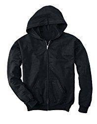 Hanes Youth 7.8 oz. ComfortBlend EcoSmart 50/50 Full-Zip Hood | Fashions for Teens