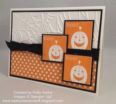 Simply Pumpkins by LaLatty - Cards and Paper Crafts at Splitcoaststampers