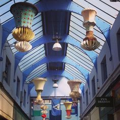 Don't forget to look up once in Brixton village!