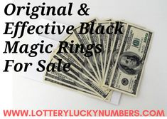 Effective Money Spells To Attract Money Into Your Life - Lottery Lucky Numbers Spells