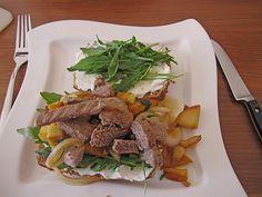 Rinderfilet - Toasties, ein sehr schönes Rezept aus der Kategorie Gemüse. Bewertungen: 2. Durchschnitt: Ø 3,8.