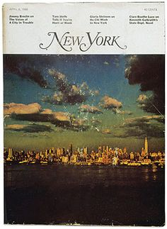 New York magazine. Co-founded and and design by Milton Glaser