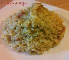 risotto carciofi pancetta e scamorza gustosissimo la #ricetta# sul blog La cucina di Reginé