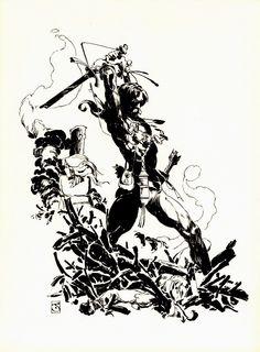 Cap'n's Comics: More Fafrd by Jeff Jones