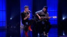 "Justin Bieber Sings ""As Long As You Love Me"""