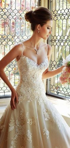Gorgeous Bridal Dress with Pop Embellished look # ...