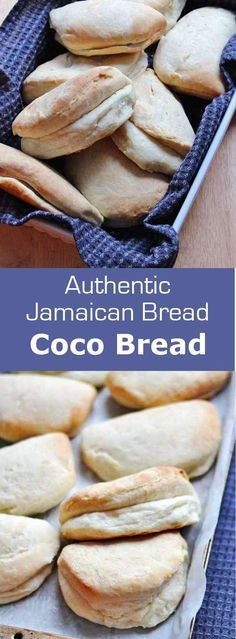 Use cup to cup king Arthur GF mix Coco bread is a coconut milk bread that is popular in Jamaica as well as in other areas of the Caribbean. It is often stuffed with a Jamaican patty. Jamaican Cuisine, Jamaican Dishes, Jamaican Recipes, Jamaican Coco Bread Recipe, Brownie Desserts, Oreo Dessert, Mini Desserts, Carribean Food, Caribbean Recipes