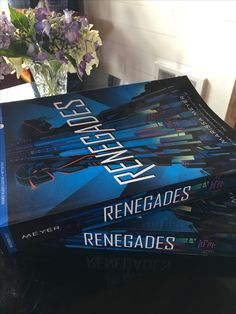 RENEGADES ARCs are here! #WinRenegades