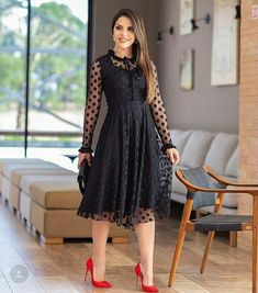 Swans Style is the top online fashion store for women. Shop sexy club dresses, jeans, shoes, bodysuits, skirts and more. Modesty Fashion, Fashion Dresses, Plus Size Dresses, Short Dresses, Dress Outfits, Dress Up, Lace Dress Styles, Western Dresses, Classy Dress