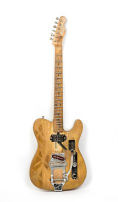 """20 1965 Fender Telecaster This is the Telecaster from """"Rock OF Ages"""" with The Band. Heavily modified since with an added Bigsby."""
