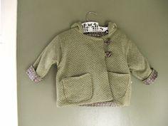 winter coat for baby handmade by Tiny Happy