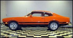 My first car - 1974 Ford Maverick Grabber. Find parts for this classic beauty at http://restorationpartssource.com/store/..Re-pin..Brought to you by #HouseInsurance #EugeneOregon Insurance for #cars old and new.