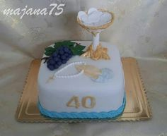 Cake Birthday Cake, Desserts, Food, Tailgate Desserts, Deserts, Birthday Cakes, Essen, Postres, Meals