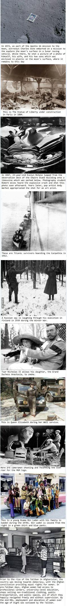 10 Rare Historical Photos