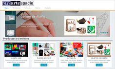 AZURNET Diseño Web Creartespacio.