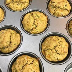 Muffins salgados que aprendi na Origine sair do forno