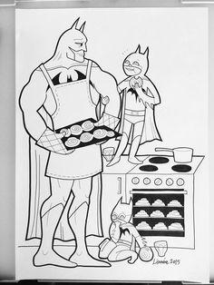 Pour Combattre Les Stereotypes Une Maman Illustratrice Sensibilise Super Heros Batman Coloring PagesSuperhero ColoringColoring Book