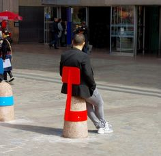 Crush on Adrian Blanc's street furniture – Trendy Home Decorations – Famous Last Words Urban Furniture, Street Furniture, Furniture Design, Concrete Furniture, Design Blog, Deco Design, Urban Landscape, Landscape Design, Design D'espace Public