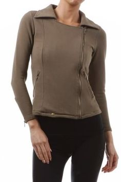 The Sloan Jacket in Olive KUTE Clothes. $49.00