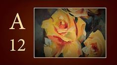 Oil Painting - Rose - YouTube