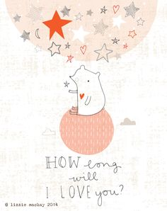 Lizzie Mackay:        ..... As long as stars are above you.  Happ...