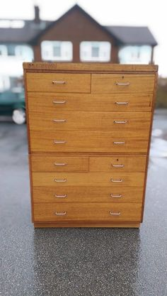 Mid Century Ministry Of Defence Tall Boy/plan Chests Of Drawers/filing Cabinet