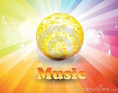 Colorful music background. by Nitesh Kesarwani, via Dreamstime