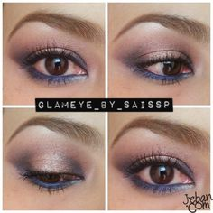 How To: Burgundy Smokey Eyes