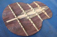 Jeffrey Yong Guitars laminated bracing