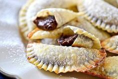 Nutella Recipes: Baked Nutella Ravioli