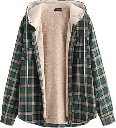 Flannel Jacket, Plaid Flannel, Flannel Style, Plaid Hoodie, Tokyo Street Fashion, Style Grunge, Neo Grunge, Casual Outfits, Fashion Outfits