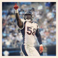 Von Miller - Denver Broncos  2012 Defensive Rookie of the Year..