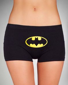 Batman Seamless Hipster Panties