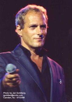 Michael Bolton in Camden NJ arena -1998 via Jan Goldberg's album