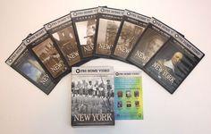 NEW YORK Documentary Ric Burns PBS American Experience (DVD 7 Disc Set) Original