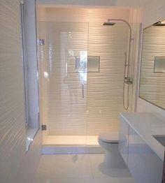 Modern Total white bathroom baño blanco y moderno