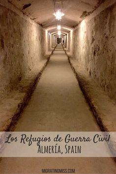 Visiting Los Refugios de Guerra Civil, Almería - Migrating Miss