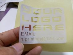 Octagon Clear Vinyl Sticker A Catchy Printing Product Get High - Custom clear vinyl stickers