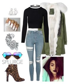 """""""Tatiana"""" by jurneefade on Polyvore featuring Mr & Mrs Italy, Topshop, Stuart Weitzman, Wildfox, Humble Chic and Ippolita"""