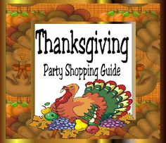 Kims Kandy Kreations: Thanksgiving Party Etsy Shopping Guide
