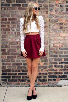 Twirling Circles Skirt
