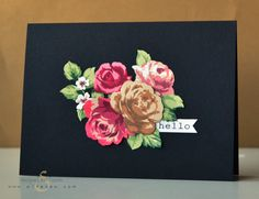 Today we are looking in depth at Vintage Roses: Design Inspiration: Image Source Image Source Image Source Design Ideas: In this card, a lot of masking was done to achieve a one-layer pattern. You ...