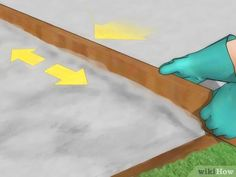 How to Pour a Concrete Patio. Patios can be wonderful additions to any home, but homeowners generally have to weigh the benefits of having a patio with the expense of having someone do the construction. To save on this expense, however,. Concrete Forms, Poured Concrete, Concrete Patio, Garden Tiles, Patio Steps, Outdoor Living, Outdoor Decor, Wood Projects, Pictures